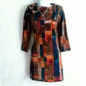 Papillon Colorblock Sweater Dress